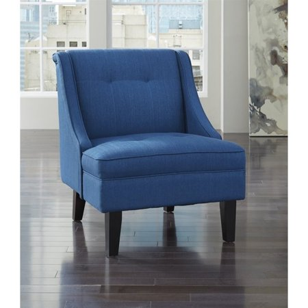 Prime Ashley Clarinda Fabric Accent Chair In Blue Machost Co Dining Chair Design Ideas Machostcouk