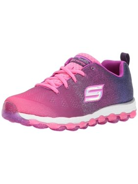 7158968e Product Image Skechers Kids Girls' Skech-Air Ultra-Sparkle City Sneaker,  Hot Pink/