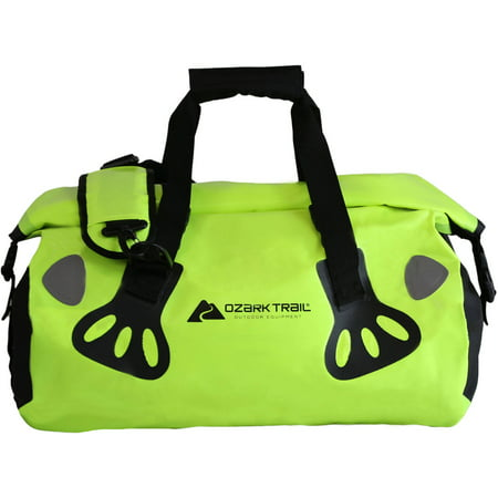 Ozark Trail 30L Dry Waterproof Bag Duffel with Shoulder Strap](Day Bags)