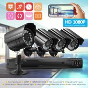 Best Cctv Cameras - 4CH Camera System Full 1080P Video DVR Recorder Review