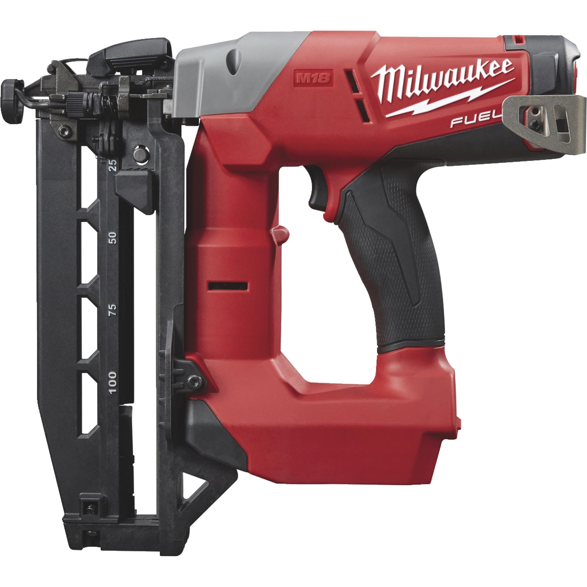 Milwaukee M18 FUEL Brushless Cordless Finish Nailer Bare Tool by Milwaukee Elec.Tool