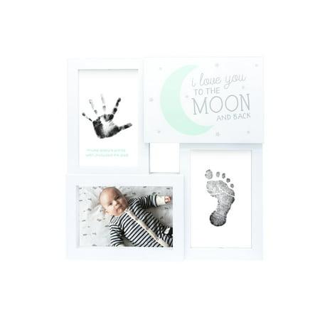 Baby Prints Collage Keepsake Photo Frame