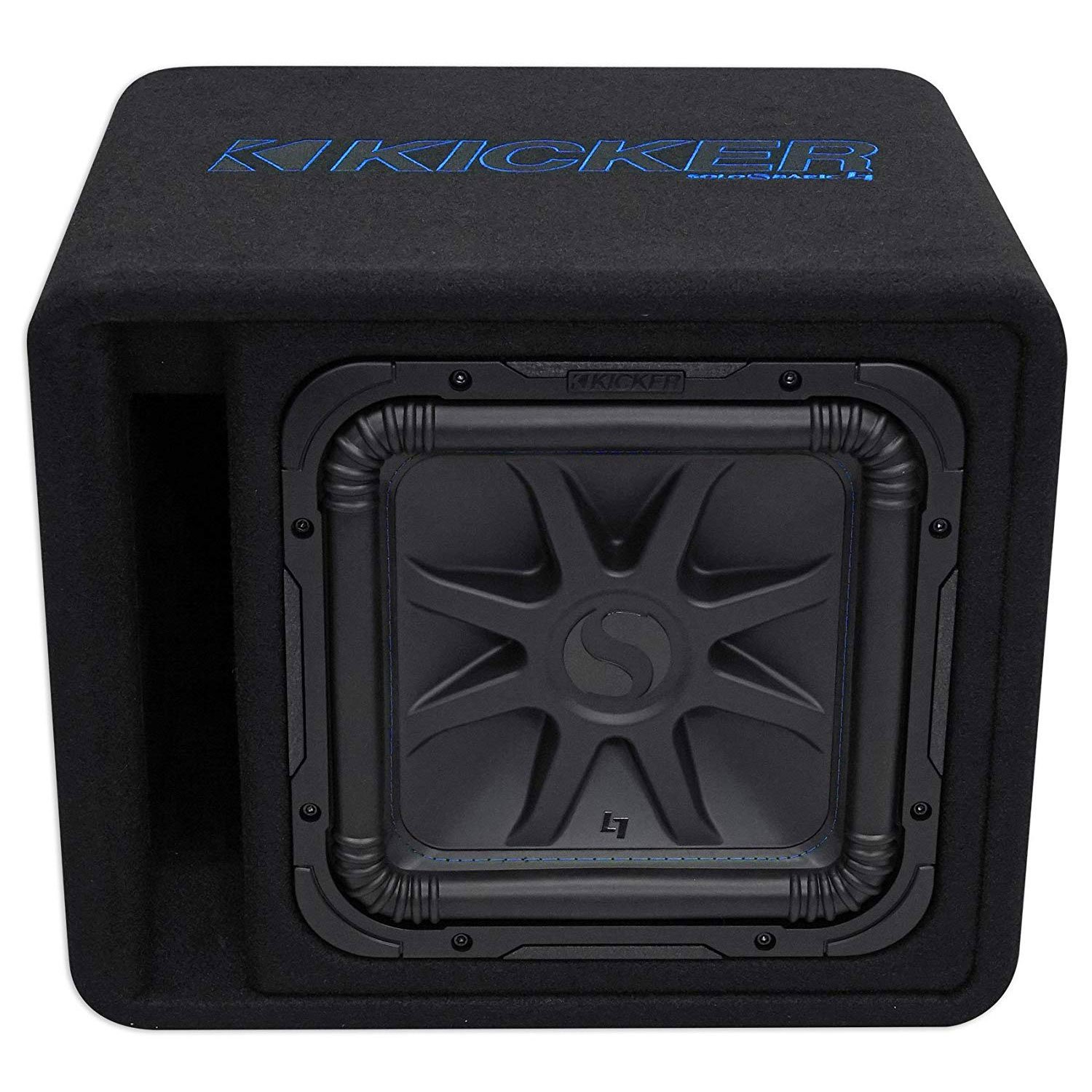 Kicker 750W 2 Ohm Carpeted Vented Subwoofer Enclosure (Certified Refurbished)