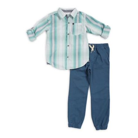 312948594 Calvin Klein - Calvin Klein Kids Boys Woven Pant Set - Walmart.com