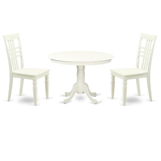 One Round Small Table Two Chairs With, Small White Circle Dining Table And Chairs