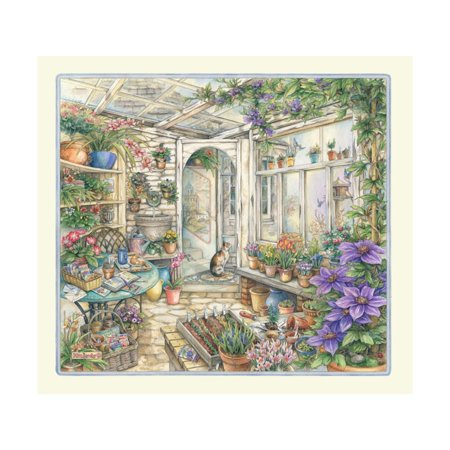 Spring in Garden Room Print Wall Art By Kim Jacobs
