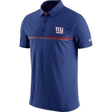 New York Giants Nike Elite Coaches Performance Polo - Royal - S