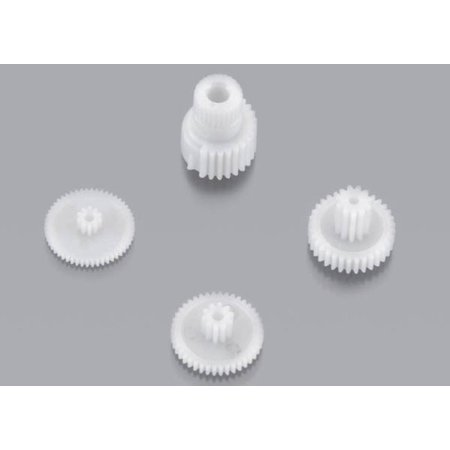 Traxxas Tra2082 Gear Set (For 2080 Micro Waterproof Servo) Replacement - Servo Frame Set