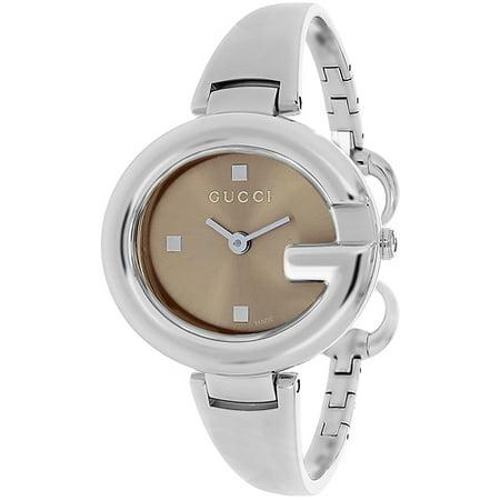 01b4dee8d9e Gucci - Women s ssima Watch Quartz Sapphire Crystal YA134302 - Walmart.com