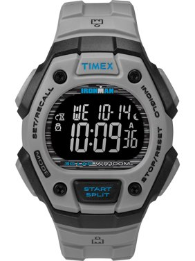 6723f3fa3 Free shipping. Product Image Timex Men's Ironman Classic 30  Gray/Black/Negative Watch, Resin Strap