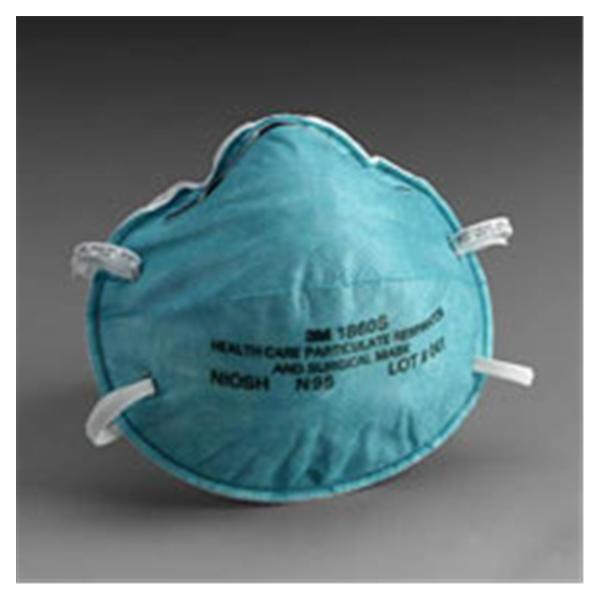 WP000-3M-1860S 3M-1860S Mask Face N95 Particulate Respira...