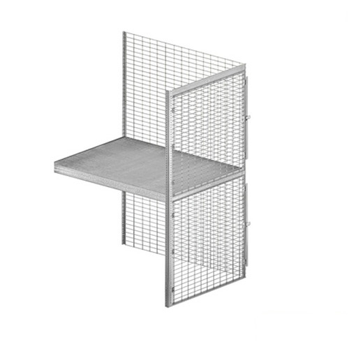 Salsbury Industries Bulk Storage Shelf