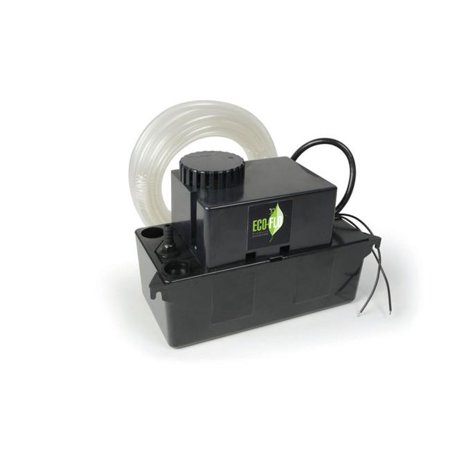 ECO-FLO Products Condensate Pump The condensate pump is designed for removal of condensate from furnaces, air conditioners, dehumidifiers and other types of equipment