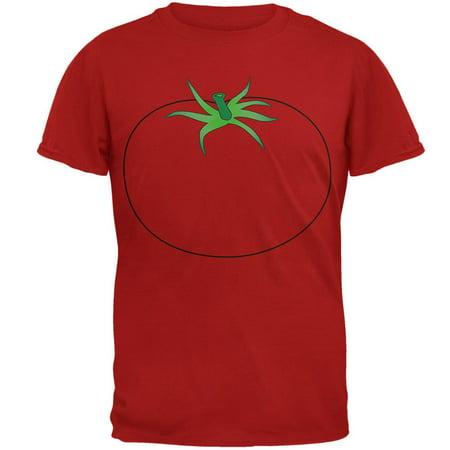 Halloween Fruit Vegetable Tomato Costume Mens Soft T Shirt