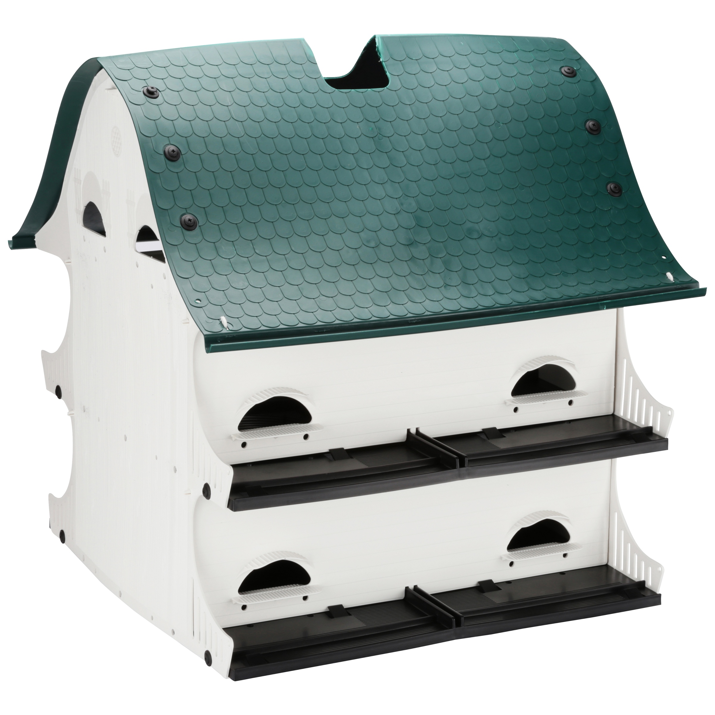 The American Barn Purple Marlin Bird House Box