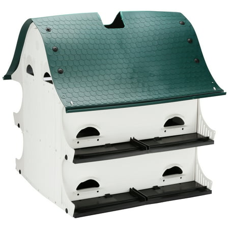 (The American Barn Purple Marlin Bird House Box)
