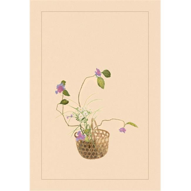 Buy Enlarge 0-587-04427-6C12X18 Hydrangea and Daisy- Canvas Size C12X18
