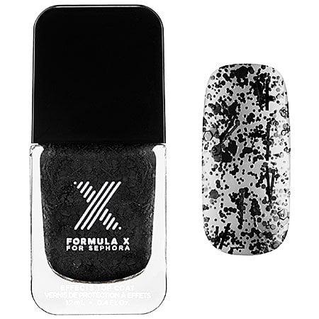 Xplosives Top Coats Formula X for Sephora 0.4 Oz Blast Off - Black Confetti