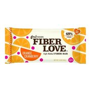 Nugo Nutrition Bar - Fiber Dlish - Orange Cranberry - 1.6 Oz Bars - Pack of 16