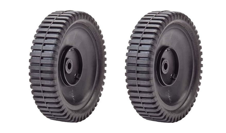 2 Pack Lawn Mower Front Drive Wheel for Husqvarna Poulan AYP Sears Replacement for Oregon 72-077 180775 532180775 700953