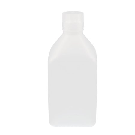 1000Ml Plastic Square Chemical Sample Reagent Bottle Food Canister Thicken White
