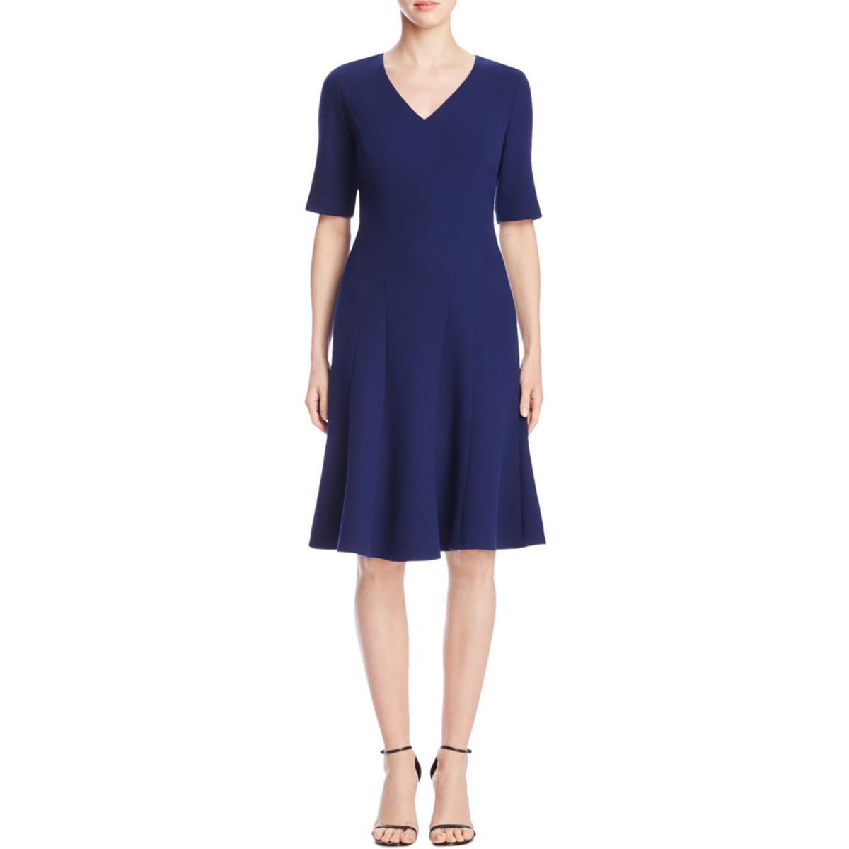 Lafayette 148 Womens Mirasol Textured Wool Elbow Sleeves Wear to Work Dress by Lafayette 148