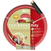 "Apex 969RR-50 3/4"" X 50' Farm & Ranch Duty All Rubber Hose"