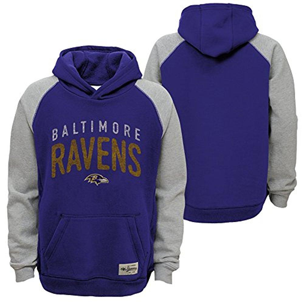 """NFL Youth Baltimore Ravens """"Foundation"""" Hoodie"""