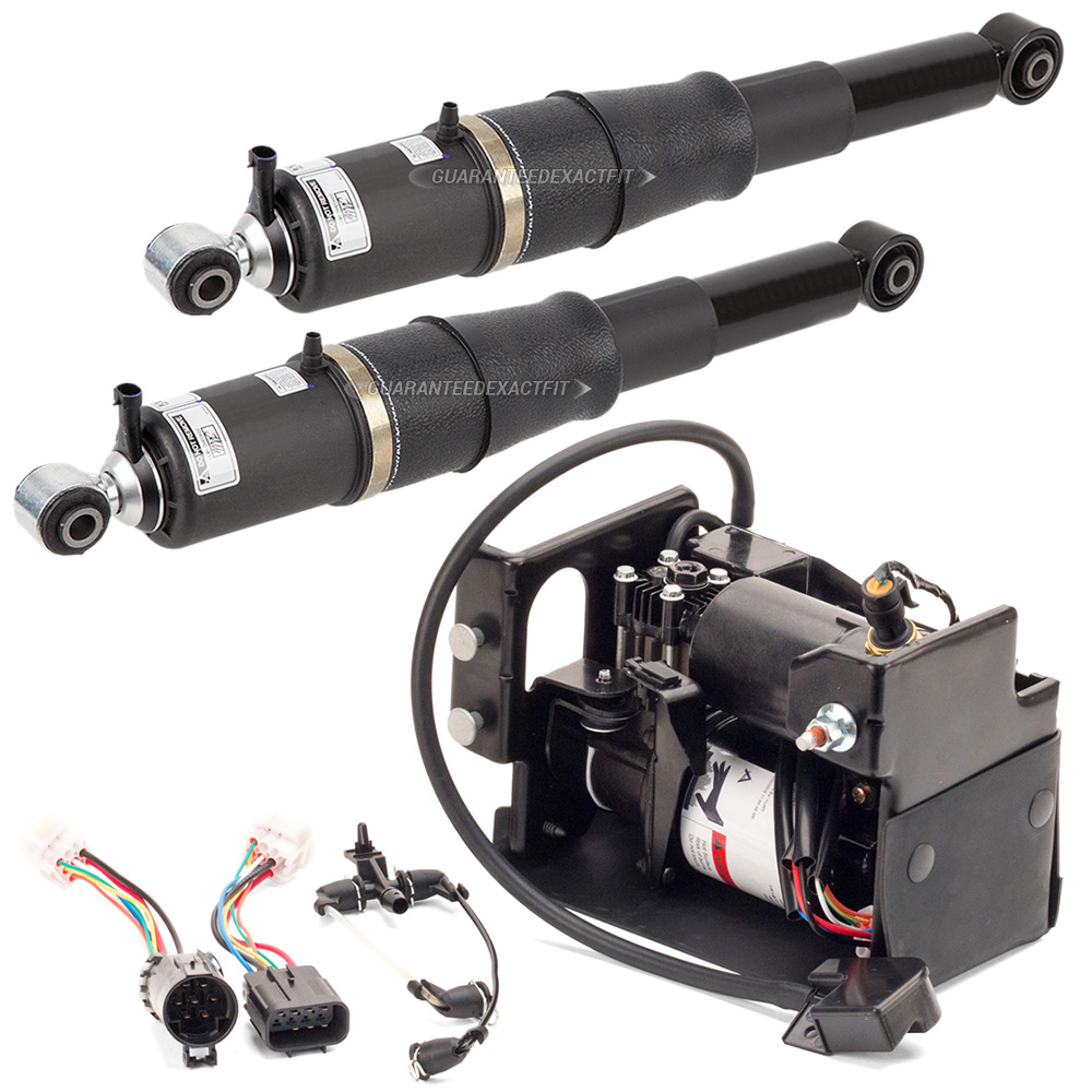 Pair Rear Air Shock Absorber Set For Cadillac Escalade & GMC Yukon XL 1500
