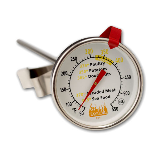 Taylor Weekend Warrior Deep-Fry Dial Thermometer #804