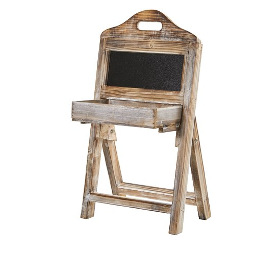 Nearly Natural Free Standing Chalkboard