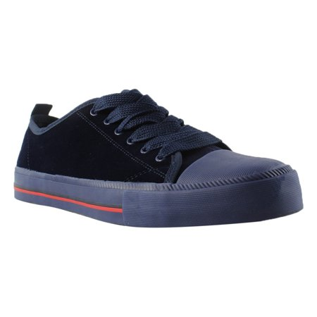 Tommy Hilfiger Womens TWTAYLA4 NavyVelvet Low Top Athletic Shoes Size 10 New