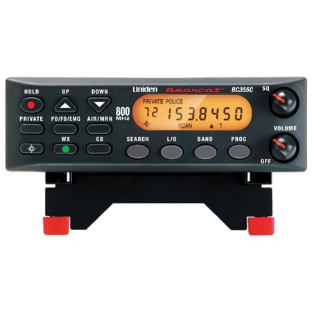 Uniden 800 MHz 300-Channel Base Mobile Scanner (BC355N) (800 Channel Police Scanner)
