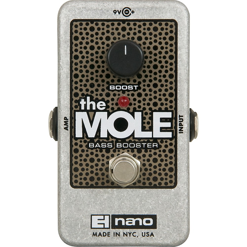 Electro-Harmonix The Mole Bass Booster Effects Pedal by Electro-Harmonix