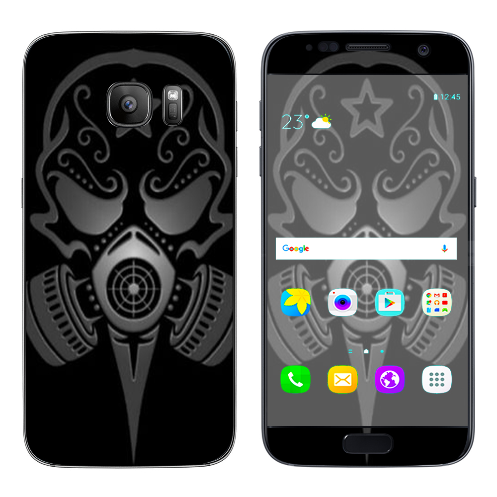Skins Decals For Samsung Galaxy S7   Gas Mask by Itsaskin