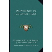 Providence in Colonial Times