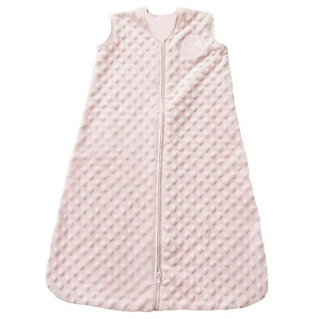 Halo Sleepsack Wearable Blanket - Velboa - Pink Plush Dots - Sm