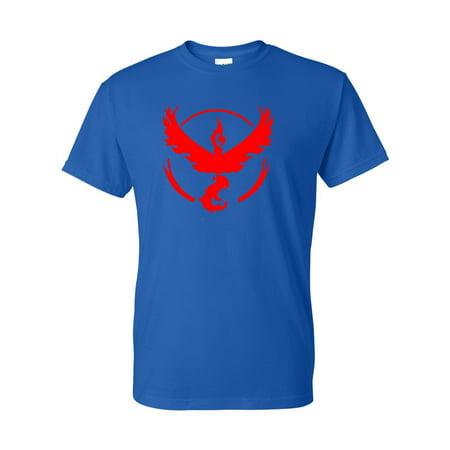 Pokemon Go Gym Team Valor Red Youth Boys Girls Short Sleeve Tee T-Shirt - Naughty Pokemon Girls