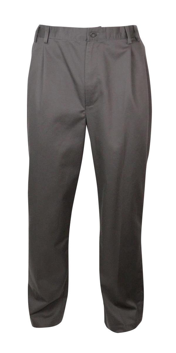 IZOD Men's Classic American Chino Double Pleat Dress Pants