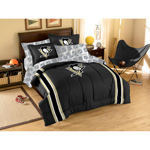 Nhl Applique 3-piece Bedding Comforter S