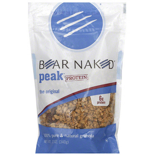 Bear Naked High Protein Granola, 12 oz, (Pack of 6)