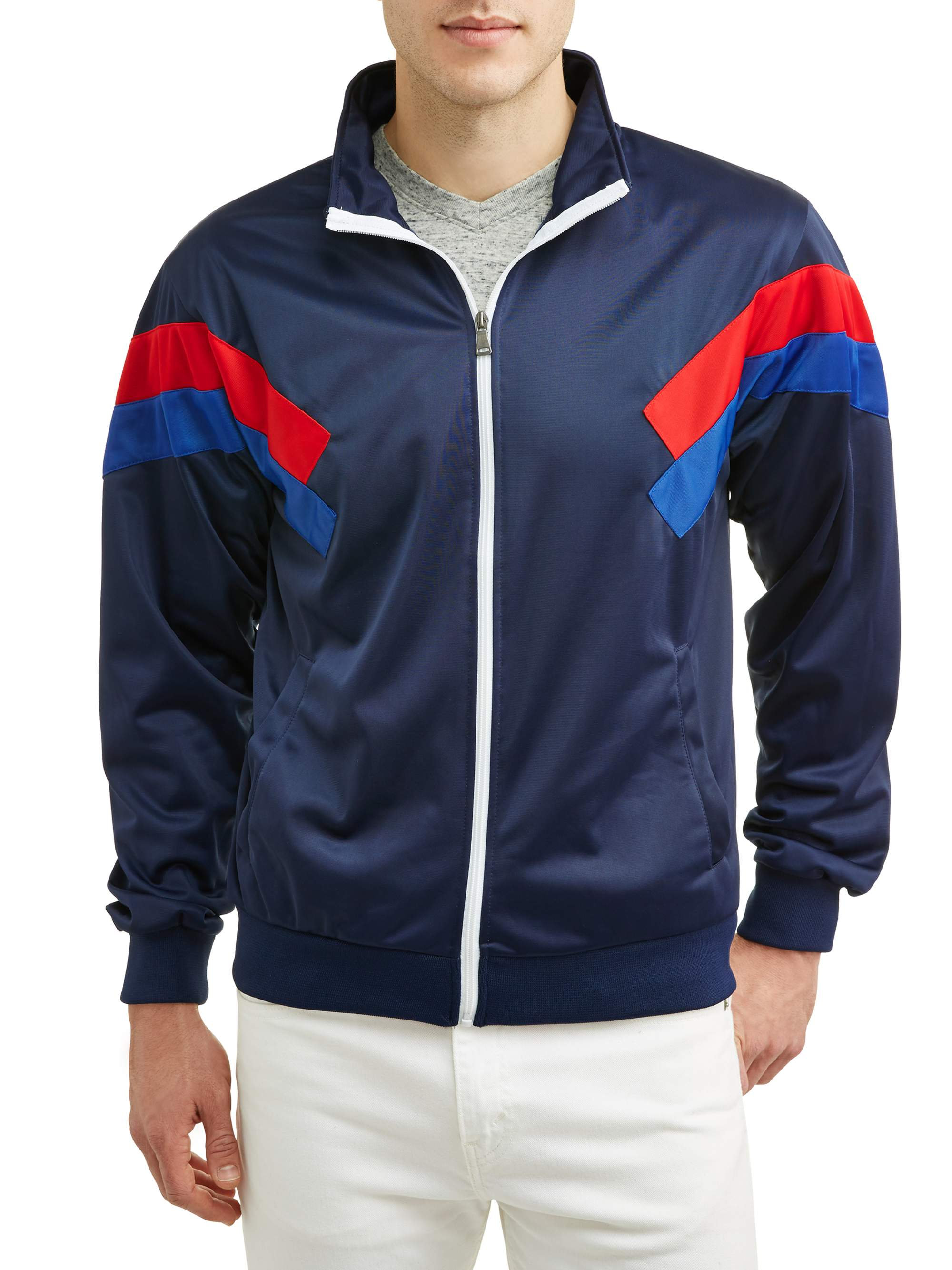 Men's Tricot Full Zip Jacket, up to size 3XL
