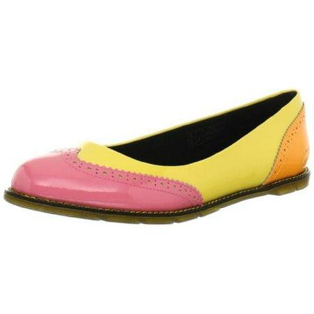 - Dr. Martens Women's Ceri Brouge Flats Shoes, Multiple Colors