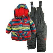 Rugged Bear Baby Boys Winter Puffer Ski Jacket Snowboarding Snowsuit