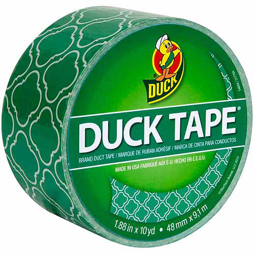 "Patterned Duck Tape, 1.88"" x 10 yds"