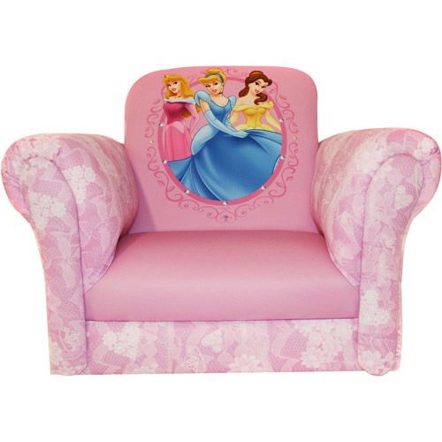 Disney - Princess Deluxe Rocking Chair, Hearts and Crowns