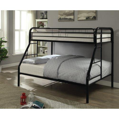 Zoomie Kids Gariepy Twin over Full Bunk Bed