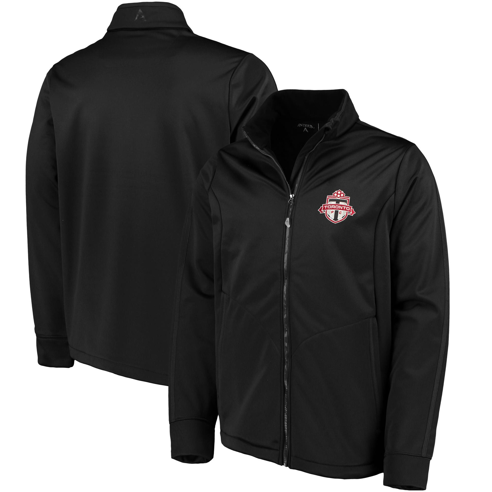 Toronto FC Antigua Golf Full-Zip Jacket - Black