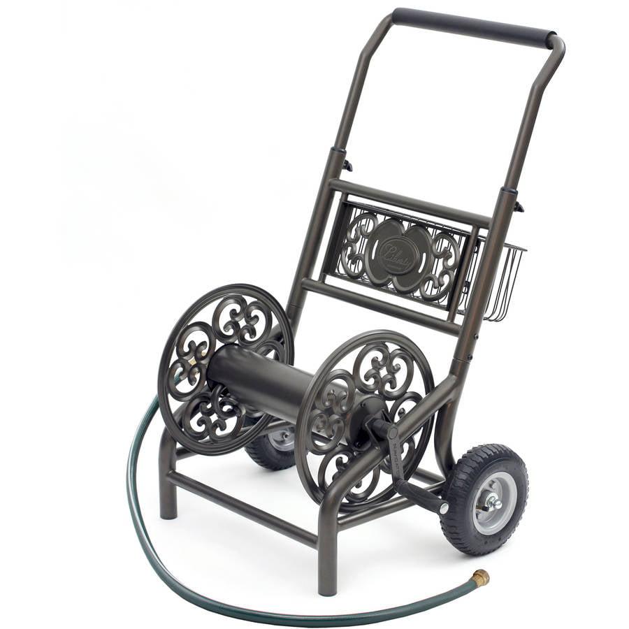 Decorative Hose Reel Cart, 2 Wheel by Liberty Garden