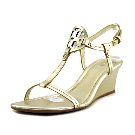 62614bd51 Tory Burch - Tory Burch Miller 60MM Wedge Women Open Toe Leather ...